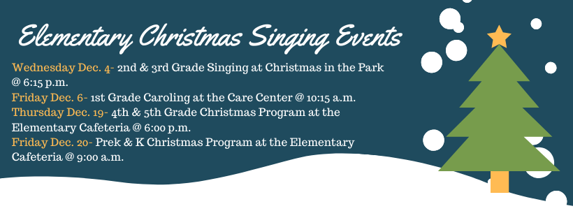 elementary singing events
